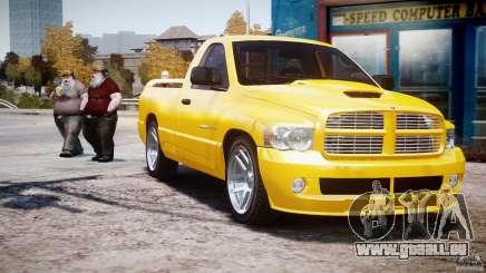 Dodge Ram SRT-10 2003 1.0 pour GTA 4