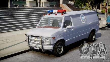 Chevrolet G20 Police Van [ELS] pour GTA 4