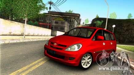 Toyota Kijang Innova 2.0 G pour GTA San Andreas