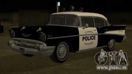 Chevrolet BelAir Police 1957 pour GTA San Andreas