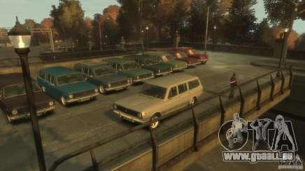 Volga GAZ-24 02 für GTA 4
