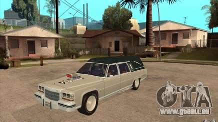 Cadillac Fleetwood 1985 Hearse Tuned pour GTA San Andreas