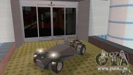 Lotus Seven in Silber für GTA San Andreas