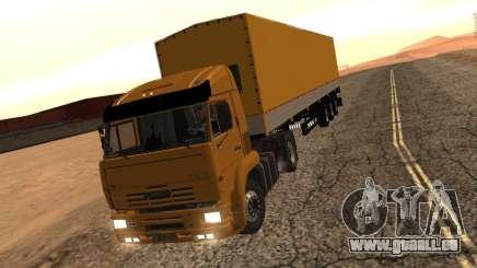 KamAZ 5460 Truckers 2 pour GTA San Andreas