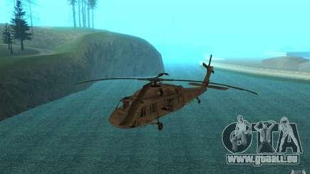 UH-60 Black Hawk pour GTA San Andreas