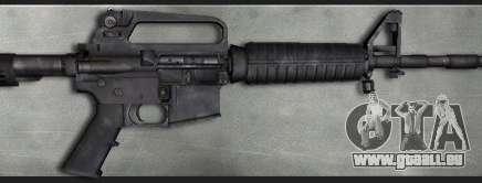 Colt M4A1 Commando Silenced pour GTA San Andreas