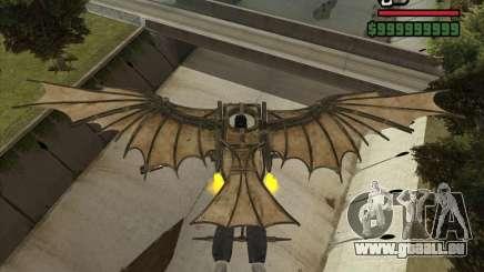 Flugmaschine von Leonardo da Vinci für GTA San Andreas