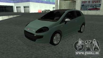Fiat Punto EVO SPORT 2010 pour GTA San Andreas