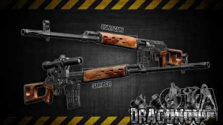 Dragunov sniper rifle v 2.0 pour GTA San Andreas