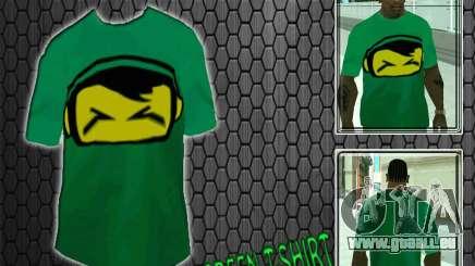 Neue green t-shirt für GTA San Andreas