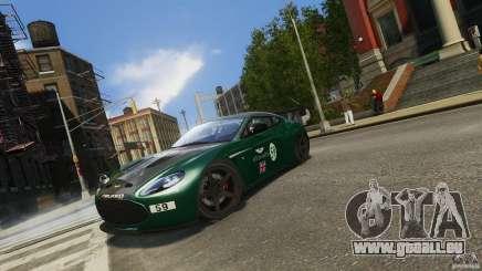 Aston Martin V12 Zagato 2012 pour GTA 4