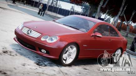 Mercedes-Benz CLK 63 AMG 2005 pour GTA 4