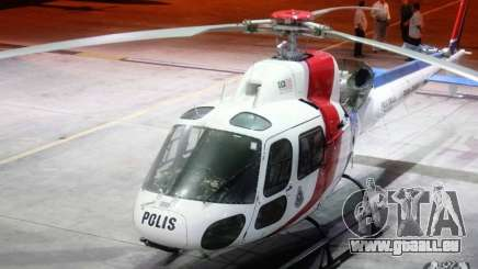 Eurocopter AS350 Ecureuil (Squirrel) Malaysia pour GTA 4
