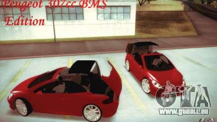 Peugeot 307CC BMS Edition pour les ordinateurs portables pour GTA San Andreas