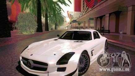 Mercedes-Benz SLS AMG GT-R für GTA San Andreas