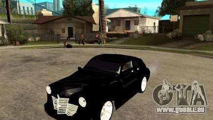 GAZ M20 (gagner) + tuning pour GTA San Andreas
