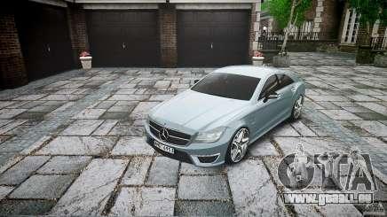 Mercedes Benz CLS 63 AMG 2012 pour GTA 4