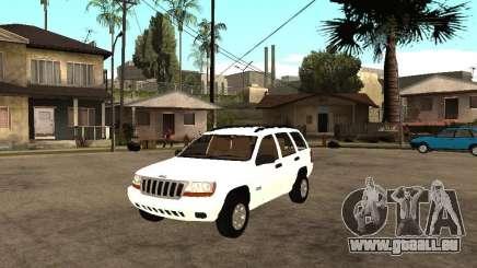 Jeep Grand Cherokee 99 pour GTA San Andreas