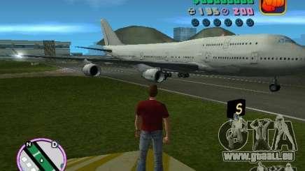 Boeing 747 für GTA Vice City