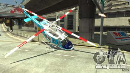 NYPD Bell 412 EP für GTA 4