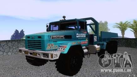 KrAZ 7140H essai 6 pour GTA San Andreas