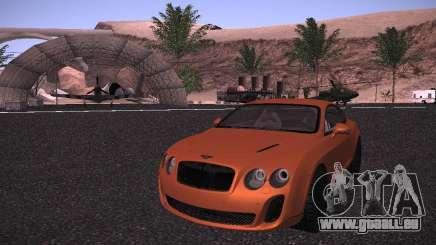 Bentley Continetal SS Dubai Gold Edition pour GTA San Andreas