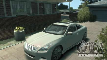 Infiniti G37 S für GTA 4
