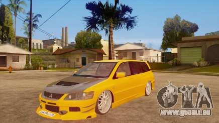 Mitsubishi Lancer Evolution IX Wagon MR Drift für GTA San Andreas