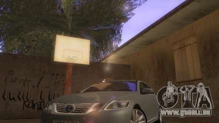 Lexus GS450H pour GTA San Andreas