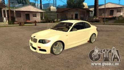 Bmw 135i coupe Police pour GTA San Andreas