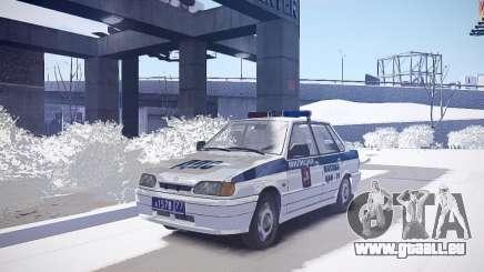 DPS VAZ 2115 pour GTA 4