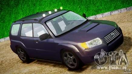 Subaru Forester v2.0 pour GTA 4
