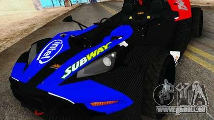 KTM X-Bow 2013 für GTA San Andreas