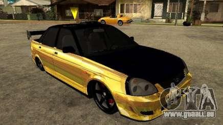 Lada 2170 Priora GOLD für GTA San Andreas