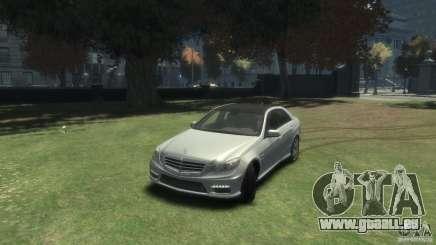 Mercedes Benz E63 AMG v2.0 pour GTA 4