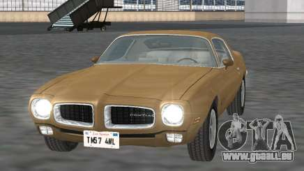 Pontiac Firebird Trans Am 1970 pour GTA San Andreas