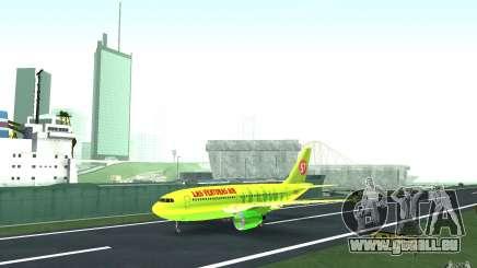Airbus A310 S7 Airlines für GTA San Andreas