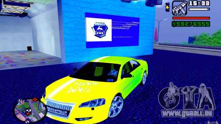 Volga Siber 2.5 AT Restailing für GTA San Andreas
