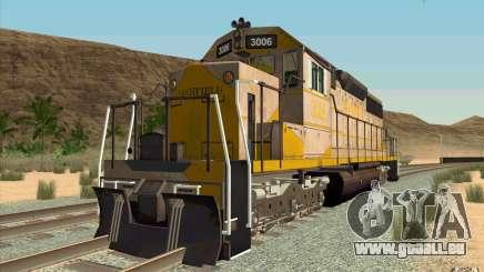 Clinchfield SD40 (Yellow & Grey) pour GTA San Andreas