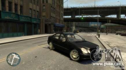 Mercedes-Benz E55 W211 pour GTA 4