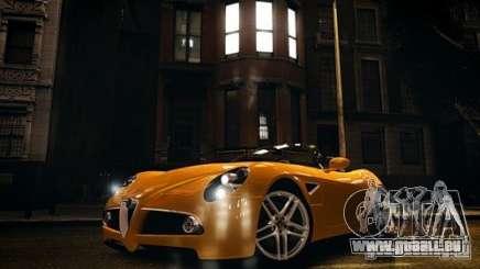 Alfa Romeo 8C Spyder für GTA 4