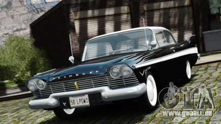Plymouth Belvedere Sport Sedan 1957 pour GTA 4