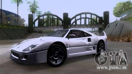Ferrari F40 für GTA San Andreas
