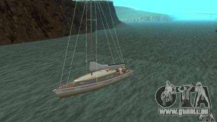 Marquis Segelyacht 09 Textures für GTA San Andreas