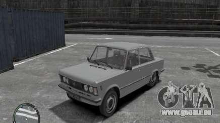 Fiat 125P FSO 1983 pour GTA 4