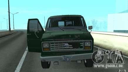 Ford E-150 Short Version v3 pour GTA San Andreas