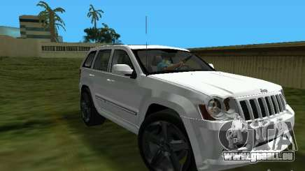 Jeep Grand Cherokee SRT8 TT Black Revel pour GTA Vice City