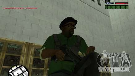 Black Weapon by ForT für GTA San Andreas