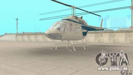 Bell 206B JetRanger II pour GTA San Andreas