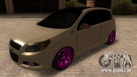 Chevrolet Aveo Tuning für GTA San Andreas